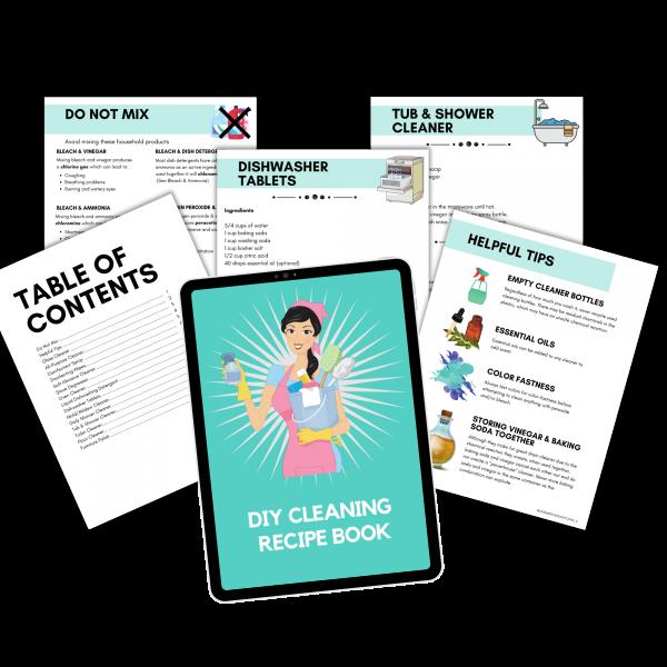 DIY Cleaning Recipe Book