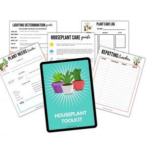 Printable Houseplant tracking guide