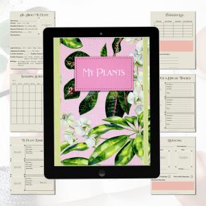 digital goodnotes houseplant planner