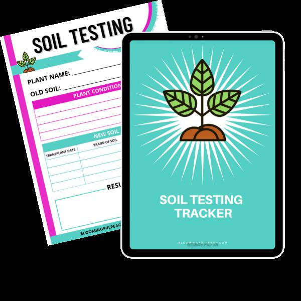 houseplant soil testing printable